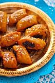 Makroudhs (Dattelküchlein aus Tunesien)