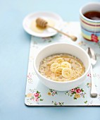 Apple and Banana Porridge