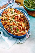 Pork and Fennel Ragu Bake