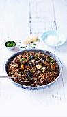 Pilz-Quinoa-Risotto