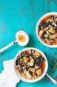 Ribollita (Italian vegetable hot pot)
