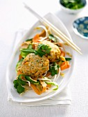 Gluten-free Asian Fish and Rice Patties