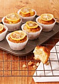 Lemon and ricotta muffins