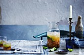Caipirinha with Aged Cachaca, Mandarin and Pink Peppercorn