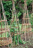 Klettergestell aus Weidenruten