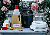 Schwefelleber-Seifen-Lösung gegen Pilzkrankheiten