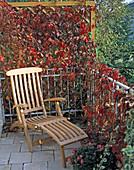 Deckchair auf Balkon