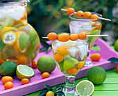 Citrus limon and limetta (lemons and limes)