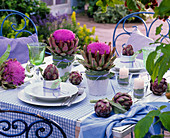 Artichoke table decoration: Cynara scolymus