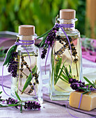 Wellness oil with lavandula and rosemary