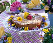 Bunte Frühlings - Tischdeko