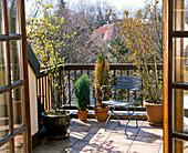 Vorher - Nachher - Balkon