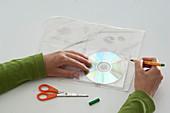 CD - Hülle aus geschöpftem Papier :2/5