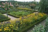 Schloßgarten von Villandry