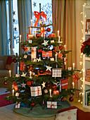 Abies nobilis (Nobilistanne) als Weihnachtsbaum