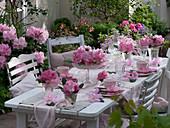 Rhododendron - Tischdeko