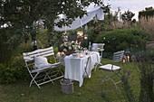 Kleines Sommerfest im Garten