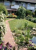 GESAMTANSICHT DES Handtuchgartens