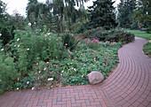 Gartenweg aus Klinker