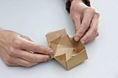 Geschenkschachtel selbermachen