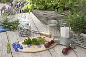 Blüten - Kräuter - Salz