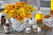 Calendula (Ringelblumen) sind vielseitig verwendbar