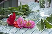 Zutaten für romantische Straeusse