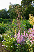Painswick Rococo Garden, Gloucestershire: THE KITCHEN Garden