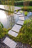 PRIVATE Garden NEAR Milan, ITALY, DESIGNED by Studio Gpt, Bergamo, ITALY: NATURAL Swimming Pool Garden
