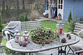 Spätherbst / Winter mit Freunden im Garten