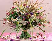 Trifolium / Klee, Rumex / Ampfer, Achillea / Schafgarbe,Centaurea