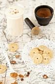 Chai Spice Shortbrean and Chai Tea Latte