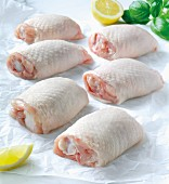 Chicken thighs greaseproof
