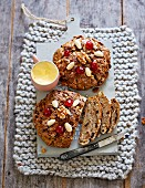 Fruit bread with honey (lactose-free)