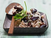 Caribbean-style rice with beans