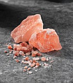 Himalayan salt rocks