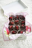 Chocolate and Cherry Cups