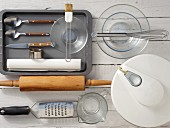Kitchen utensils for preparing scones
