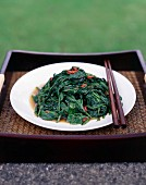 Asian Sambal Spinach