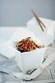 Stir-fried Crispy Shredded Beef with Carrot