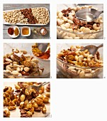 How to prepare spices with honey and chilli