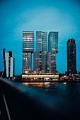 Vertical City von Rem Koolhaas, Rotterdam, Niederlande