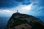 Lighthouse on Cap de Formentor in Mallorca, Spain