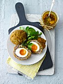 Scotch Eggs (Draufsicht)