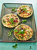 Smoked Salmon Tarts