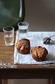 Cruffin, eine Kombination aus Muffin und Croissant