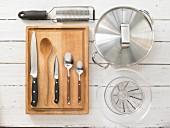 Kitchen utensils for making goulash