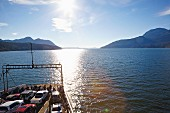 The ferry between Vancouver Island and the Sunshine Coast in British Columbia, Canada