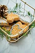 Christmas cinnamon cookies
