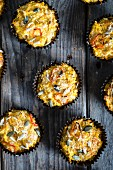 Sweet Potato Muffins with Chilli, Cheese and Seeds